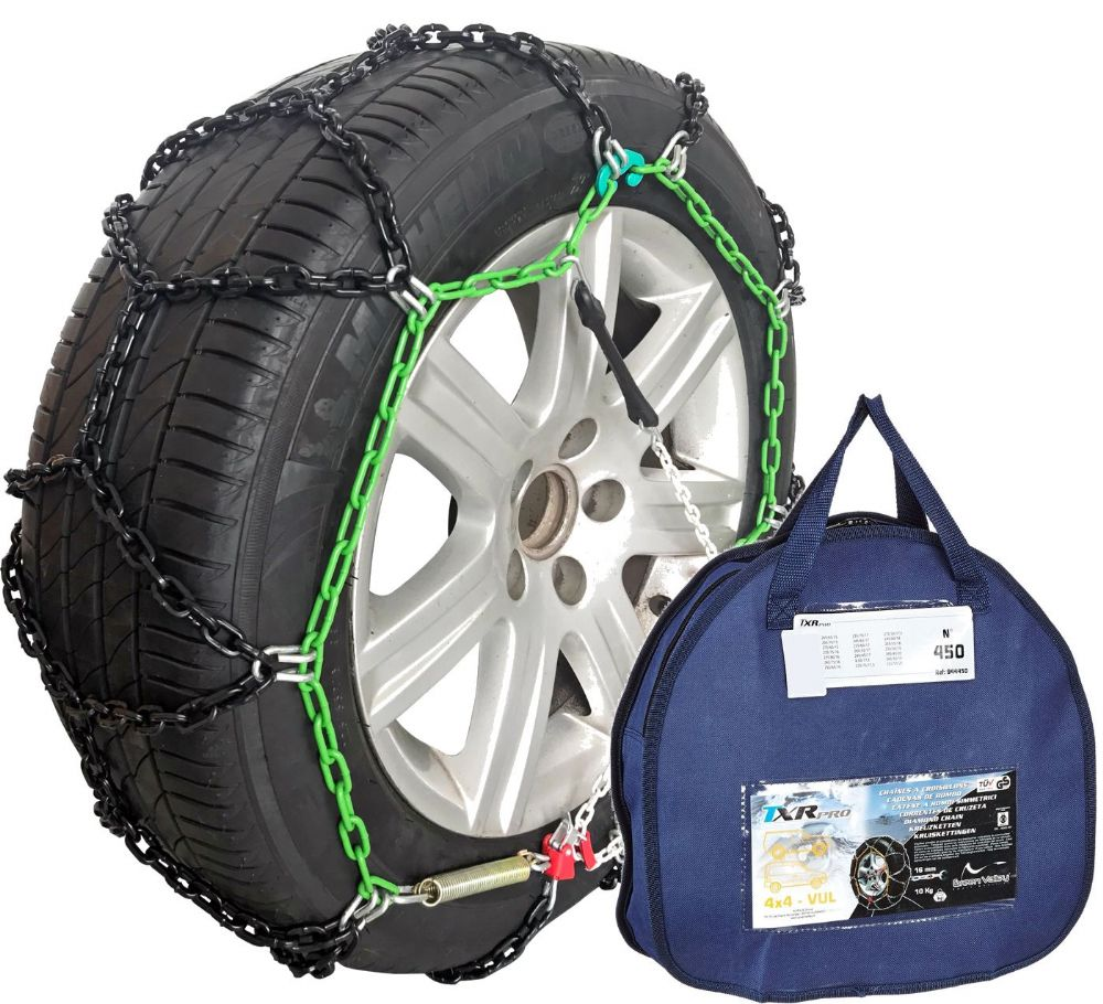 Heavy Duty 16mm Snow Chains Ford Ranger T6 2 2 Tdci 2012